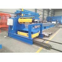 China High Speed 10 Tons Sheet Metal Decoiler Automatically With Coil Car wholesale