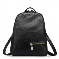 China Genuine cow leather school bags black women's bags fashion travelling shoulder bags wholesale