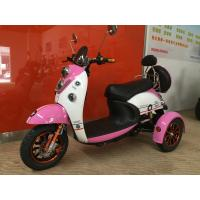 China Electric Tricycle Scooter With 800W Brushless Powered Tricycles For Adults Lead Acid wholesale