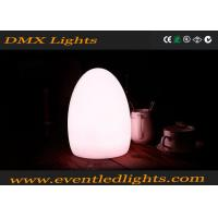 China Smart Cordless Flash Rechargeable LED Table Lamps Hard Plastic For Events Party wholesale