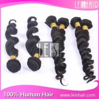 China Hot selling 5A grade loose wave virgin peruvian hair wholesale