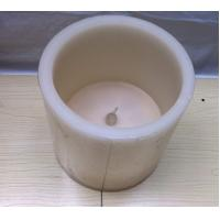 Large Flameless Led Pillar Candles White Led Candles 15 x 15cm