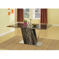 China Natural Silver Dragon Marble Modern Dining Room Tables Traditional Rectangular wholesale
