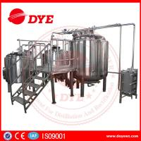 China Energy Efficient Beer Making Machine Home Brew Equipment PLC Or Touch Screen wholesale