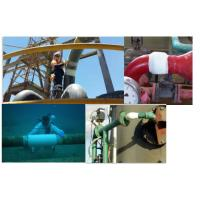 Oil pipeline gas water activated fiberglass fixing