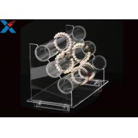 China Transparent Acrylic Display Rack Jewelry Bracelet Watch Display Stand Durable wholesale