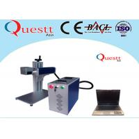 Buy cheap Mini Laser Marking Machine For Tool Accessories , High Precision Metal Laser Marker from wholesalers
