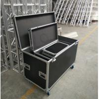 China Black Lowest Cubic Meter Of 3 In 1 Flight Aluminum Tool Cases Easy To Moving wholesale