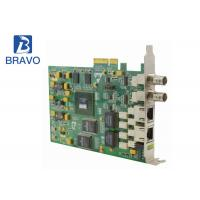 China Professional Audio Video Capture Card Processing Series Ethernet Input / Output on sale