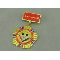 China Zinc Alloy Military Custom Awards Medals 3D Die Casting With Soft Enamel wholesale