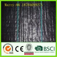 China black pp woven weed control fabric wholesale