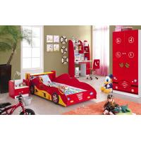 Buy cheap hot selling kids furniture kids bedroom set kids car bed from wholesalers