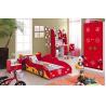 China hot selling kids furniture kids bedroom set kids car bed wholesale