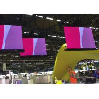 China 3.9mm 180 degrees bendable LED display for events, similar to Barco wholesale