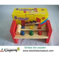 China Closeout,stocklot,liquidators,surplus,overstock,excess inventory wooden toy set on sale