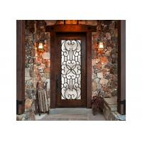 China Eloquent Wrought Iron Glass Tranquility Screening Light Transmission  Iron Oxides Natural Light wholesale