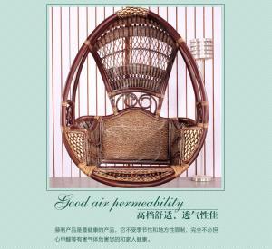 China Home Furniture Rattan Chair/ Wicker Hammocks/PE rattan swings on sale