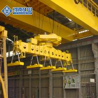 China Double Girder Overhead Electromagnetic Steel Plant Crane For Steel Mill on sale