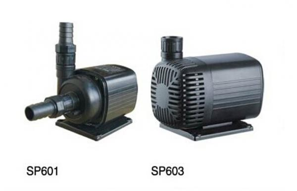 Garden waterfall images for Small outdoor pond pump