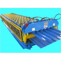China Double Layer Roof Panel Roll Forming Machine / Corrugated Iron sheet forming machine wholesale