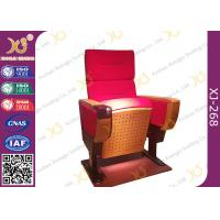 Buy cheap Modern Folded Commercial Auditorium Chairs With Strong Steel Structural Single from wholesalers