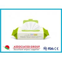 China Repeatable Seal Packing Wet Wipes For Baby Care With Ultra Compact Disposable Spunlace wholesale