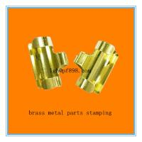 China stamping parts ,made of copper ,electroplating gold color on sale