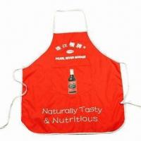 China Promotional Apron, Customized Colors are Accepted wholesale