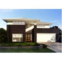 China Light Steel Structure Modern Prefab Homes Prefabricated With Steel Security Door wholesale