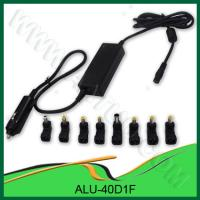 China OEM Support DC 40W Universal Notebook Adapter for Car Use - ALU-40D1F wholesale