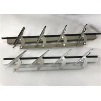 China High Precision CNC Aluminum Profiles Parts Aluminum Louver For Window 6 Inch on sale