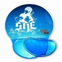 China Mouse Pads with Wrist Rest, Suitable for Promotional Purposes, Available in Various Colors wholesale