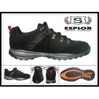 China Men's safety shoes comfortable work shoes with steel toe safety shoes black wholesale