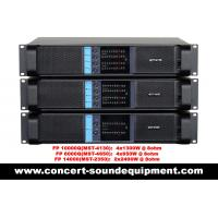 Buy cheap High Stability 4x1300W Switching Power Amplifier FP 10000Q With Neutrik Connectors from wholesalers