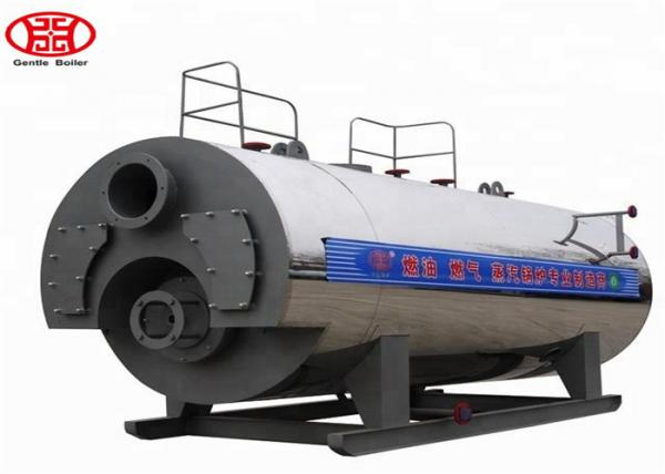 Quality 3 Pass Oil Fired Steam Boiler , Diesel Fired Industrial Multi Fuel Steam Boiler for sale