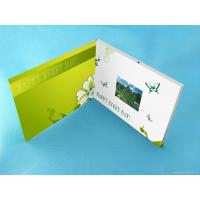 China Wedding Custom lcd video greeting card 7 Inch 16.7M brochure with video screen wholesale