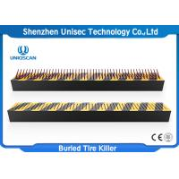 Buy cheap Traffic Control Anti Terrorist Tyre Spike Barrier , Police /  Jail / Checkpoint Spiked Road Barrier from wholesalers