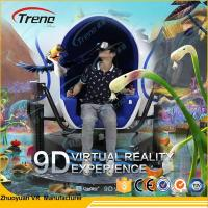 China Multi Seats 9D Virtual Reality Cinema With Dynamic Motion Seats 2185*2185*2077mm wholesale