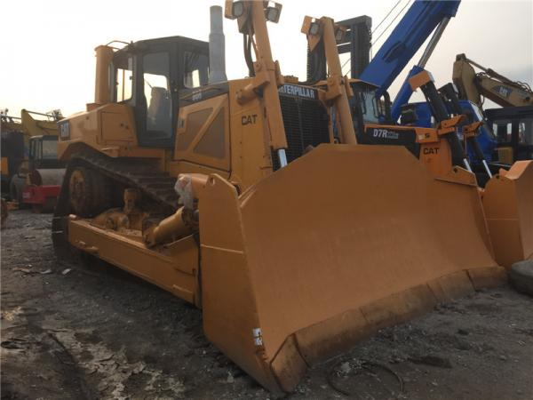 Quality Used Caterpillar D8R Bulldozer 3408 engine 33T weight with Original Paint and air condition for sale for sale