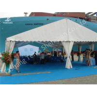 China Clear Span No Center Large Canopy Tent Gable Pole Aluminum Alloy Frame wholesale