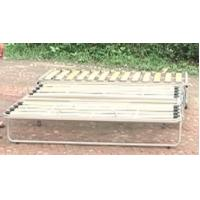 China Adjustable metal sofa bed frame with wooden slat A011 wholesale