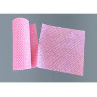 China Dishcloth Non Woven Wipes , Microfiber Floor Cleaning Rags Spunlace Material wholesale