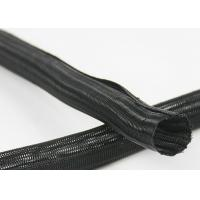 Buy cheap Cable Harness Self Wrapping Split Braided Sleeving 5mm Side Entry Acid Resistant from wholesalers
