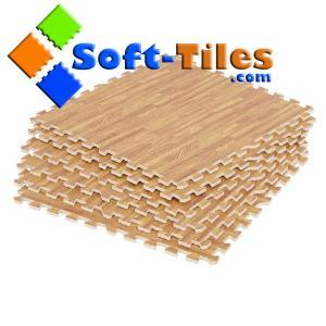 China Wood effect interlocking floor tiles Europe wholesale