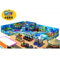 China Ocean Theme Soft Indoor Playground Equipment Big Capacity For Kids Castle wholesale