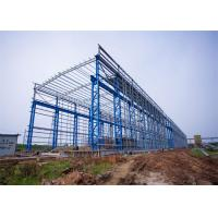 China Portal Frame Prefabricated Steel Structure Warehouse Fabrication Engineer Design wholesale