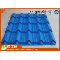 China SGCC DX51D Hot Dipped ZINC ALUME / GALVALUME Galvanized colored Corrugated Steel Sheets wholesale