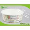 China No Leak 1000ML Paper Salad Bowls Food Grade FDA & FSC & BRC & ISO Certification wholesale