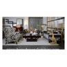 China ソファーは生地のソファーの新古典的な居間の家具の良質のよい設計TI002を置きます wholesale