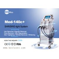 Pains Free  SHR Hair Removal Devices , Skin Rejuvenation Machine Med-140c+